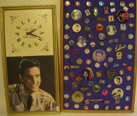Elvis Presley - A collection of approximately eighty-eight assorted