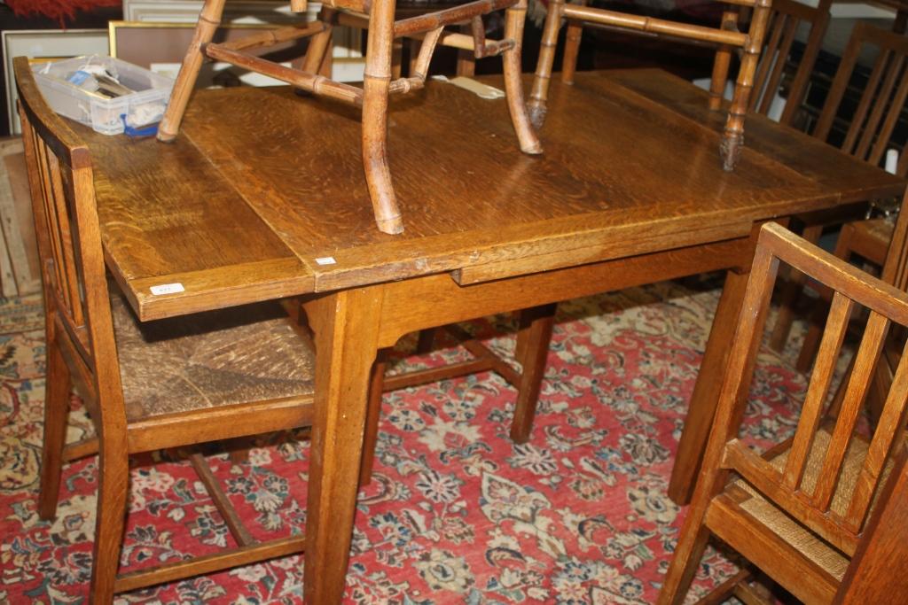 draw leaf table rails 2
