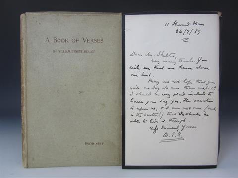 William Ernest Henley book of verses
