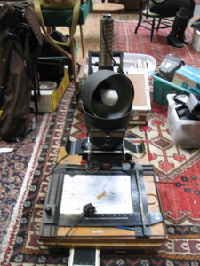 Lot 85 - LEITZ WETZLAR FOCOMAT 11C PHOTOGRAPHIC ENLARGER AND ANOTHER ENLARGER BY ENVOY
