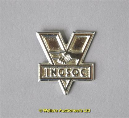 Ampquot1984 1983 Ingsoc Badge From The Uniform On Film