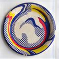 Lot 416 - Roy Lichtenstein (American, 1923-1997)A paper platelithograph in colours26 cm (10 1/4 in)