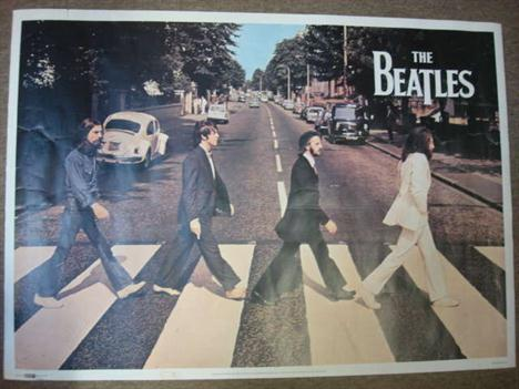 MEMORABILIA The Beatles Abbey Road Poster Published By Splash