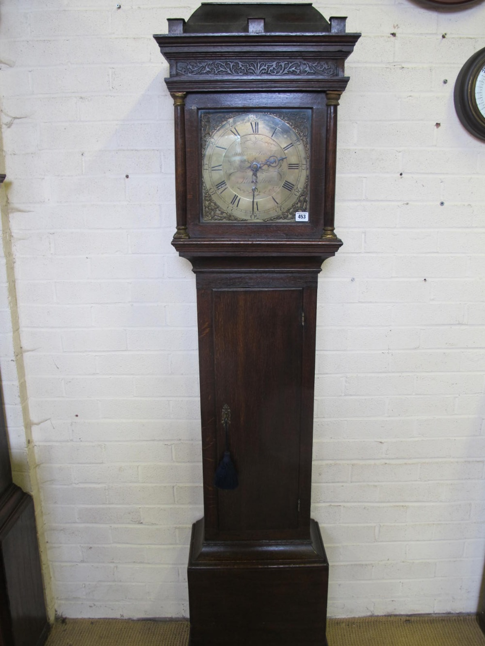 dating brass dial longcase clocks