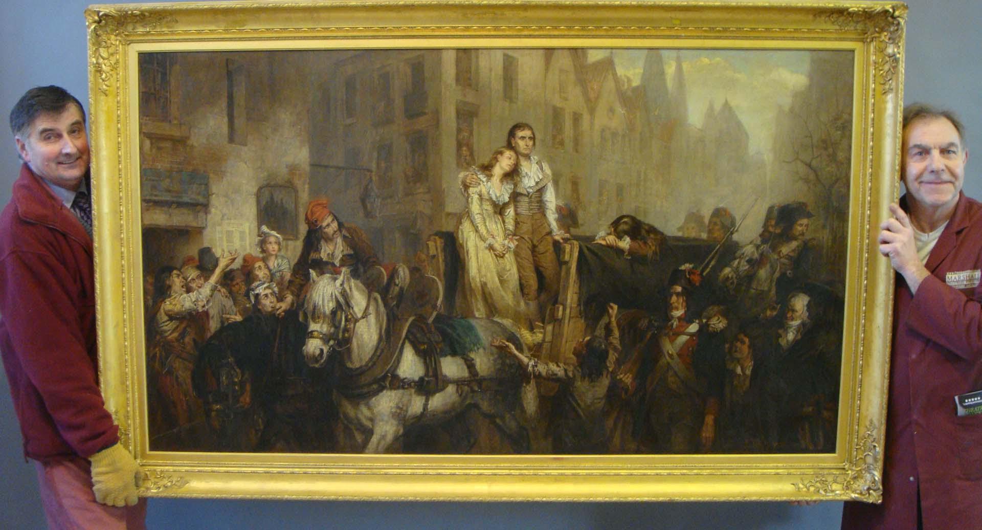 Lot 1061 - Laslett John Pott (1837-1898), 'O Liberte! Que decorative crimes on comment en ton nom!' (Oh