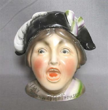 Political A Continental Ceramic Womens Suffragette Movement Lidded