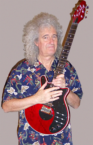 Lot 6 - Brian May`s Guitar  Please note that this lot is a timed lot and will be sold at 23.30 on 28th