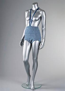 f9d74e200a67a A rare Rudi Gernreich Monokini or topless swimsuit, American, 1964,  labelled Rudi Gernreich, Designed for Harmon Knitwear` and with paper shop  tag `National ...