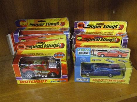 Five Matchbox Speed Kings Die Cast Vehicles Scammell
