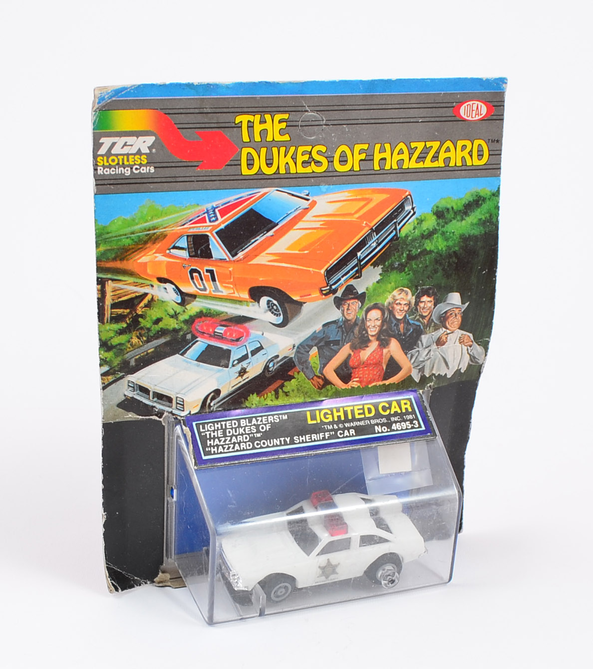 Ideal TCR #4695-3 The Dukes Of Hazzard County Sherriff