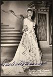 Lotto 112 - Autografi Simionato, Giulietta (1910-2010). Firma autografa su cartolina (Ferrania) raffigurante