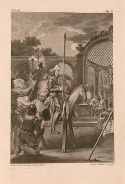 Lotto 206 - Libri Antichi e Rari Cervantes Saavedra, Miguel de.  El ingenioso hidalgo don Quixote de la