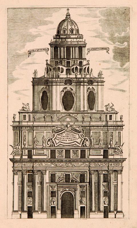 Lotto 430 - Architettura e Arte Guarini, Guarino. Architettura civile. Torino, Gianfrancesco Mairesse, 1737.