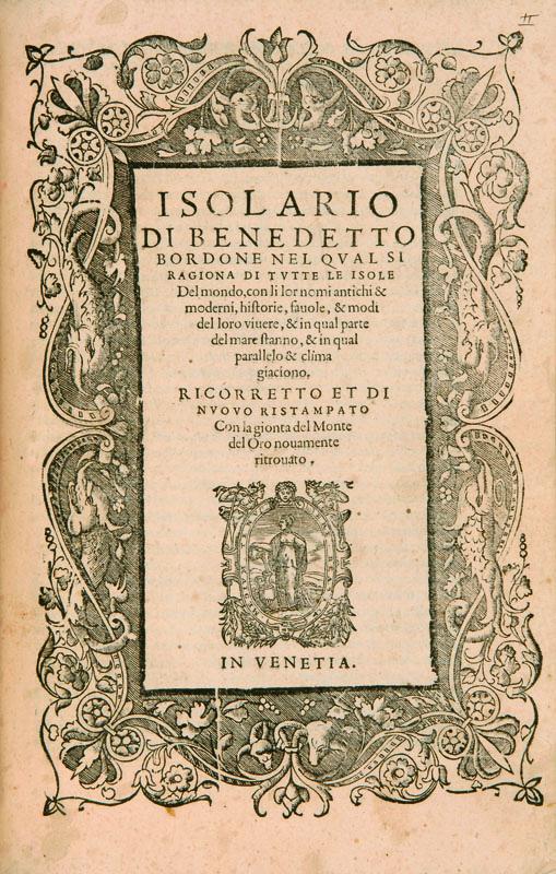 Lotto 520 - Viaggi Porcacchi, Tommaso.  L'isole più famose del mondo […] intagliate da Girolamo Porro padovano.